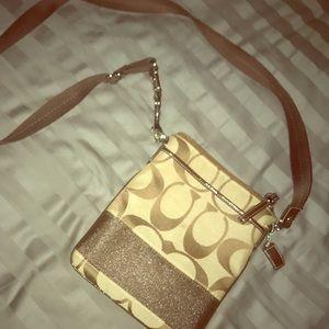 Coach crossbody purse never used